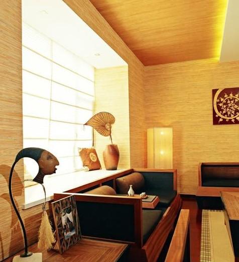 斜顶阁楼装修设计样板房 凸现冬季温暖大气之美