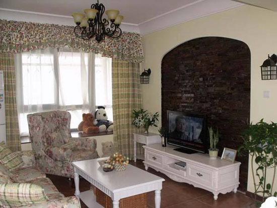 80平房屋家装设计效果图 打造清爽小户型室内装修图片
