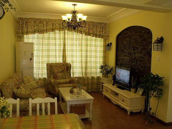 80平房屋家装设计效果图 打造清爽小户型室内装修图片高清图片