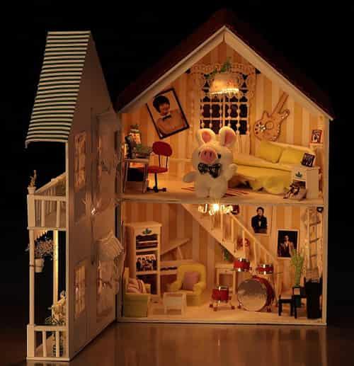 不老童话diy模型小屋 手工制作可爱小房子图片
