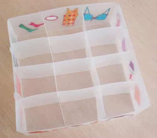 怎样做内衣收纳盒