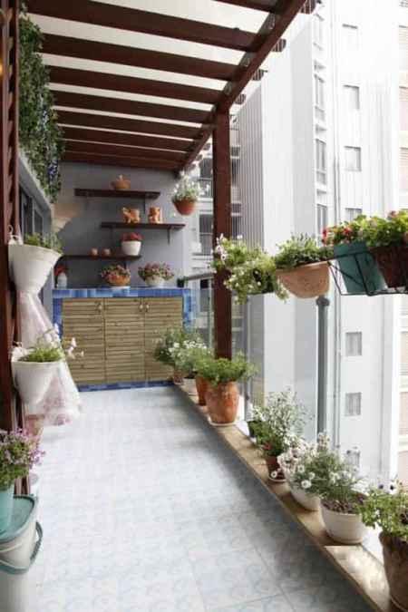 阳台变身浪漫小花园 家庭阳台小花园设计图片欣赏