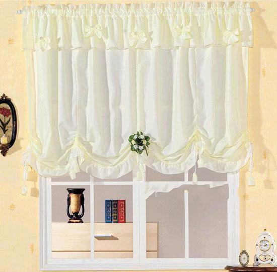 2011最新夏日欧式田园风格窗帘样式