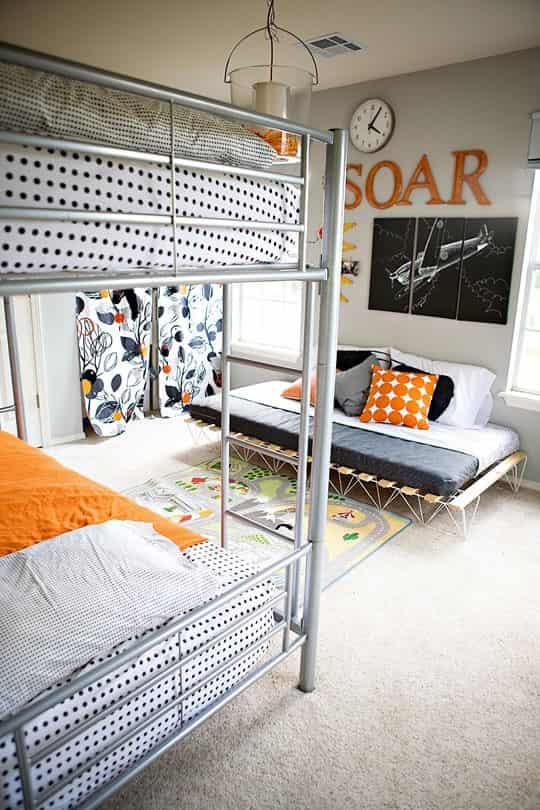 欧式双层圆床室内设计