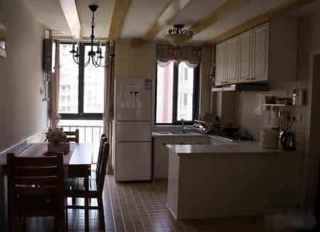 家居室内装修设计 开放式厨房合理化布局