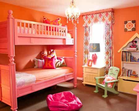 儿童房间装修效果图 家居充满童真童趣