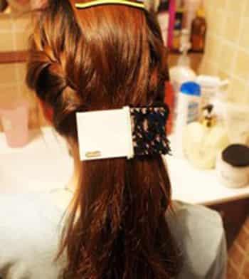 图解简单韩式温婉编发教程 DIY甜美气质发型图片
