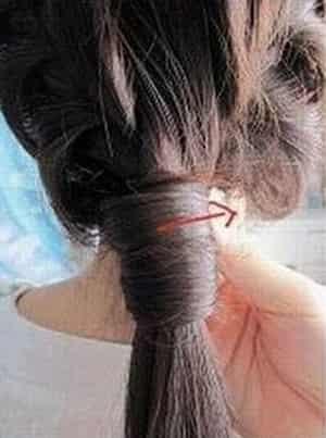 甜美慵懒发型扎法步骤 diy简单韩式街头发型