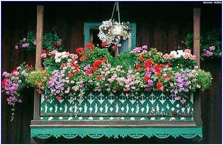 欧式田园风格的花园阳台打造技巧