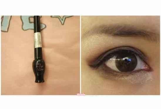 > > 内双怎么画眼妆,超详图解三分钟搞定深邃眼妆  第六步:下眼影的