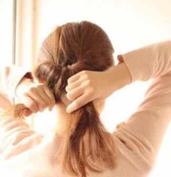 夏日长发编发盘发步骤图解 简单易学打造韩式甜美发型