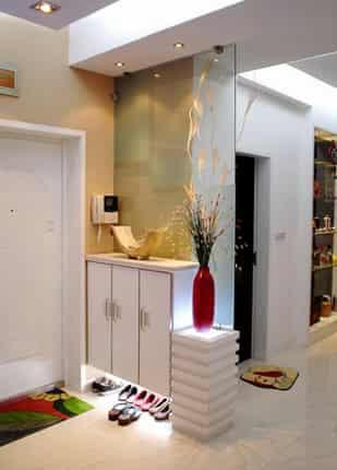 客厅进门鞋柜装修效果图 学习如何装饰美家