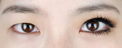 单眼皮小眼睛眼妆化妆步骤图解 如何画大眼妆有技巧图片