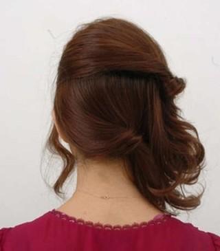 OL气质发型的扎法图解 分享3款简单大方发型教程