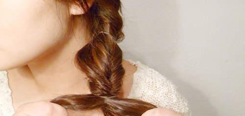 欧美女神级气质扎法,超清爽的新年出游发型图片
