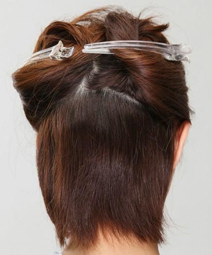 波波头短发发型怎么扎法 简单塑造显瘦发型