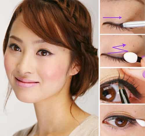 化妆入门基础教程:完美眼线画法步骤详解