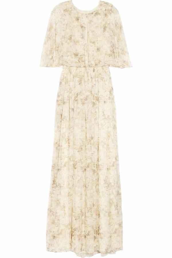 夏季超长裙摆欧美风雪纺连衣长裙 女神范必备