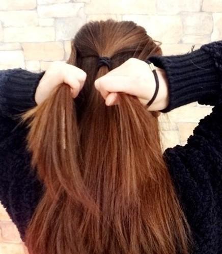 韩式扎发or盘发大全,两款入门级编发教程 - 发型图片