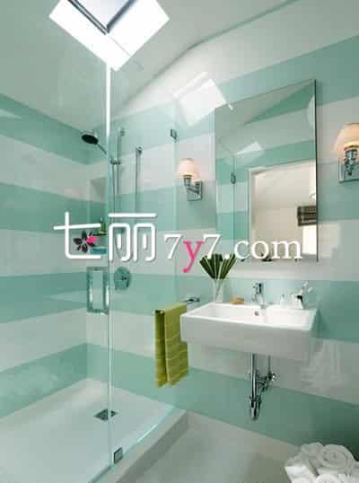 卫生间装修设计效果图 清新小居室打造精致生活