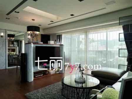 小户型中式风格客厅装修效果图