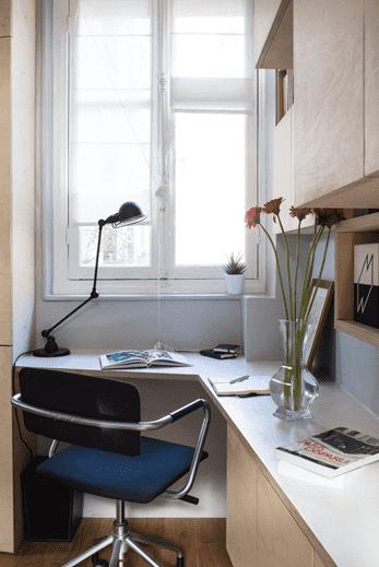 单身公寓装修效果图 收纳隔断技巧有高招