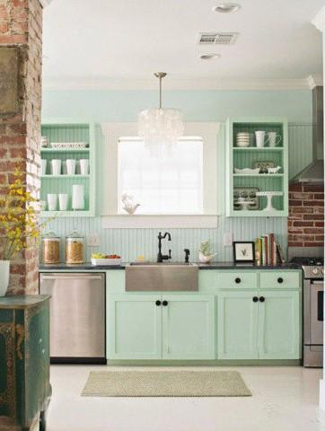 活力糖果厨房设计 小清新疯玩室内装修