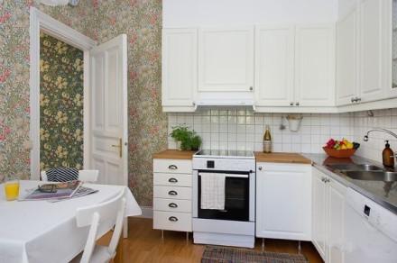 60平米小户型装修效果图 清清爽爽室内设计全搞定