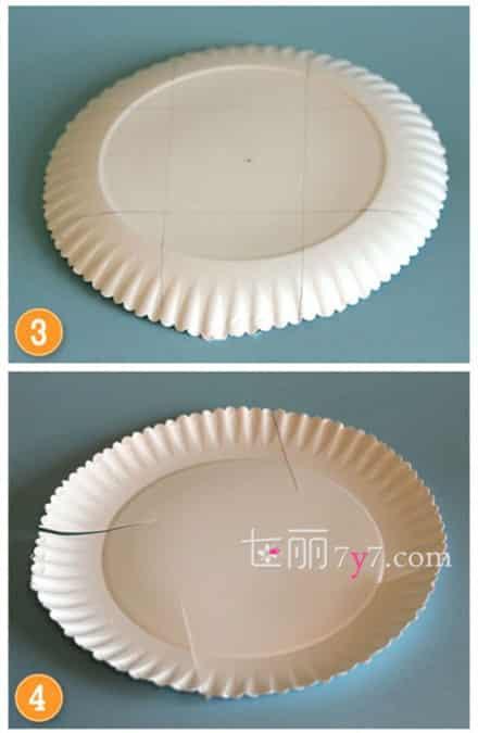 创意手工制作diy 废物利用蛋糕纸盘巧变收纳盒