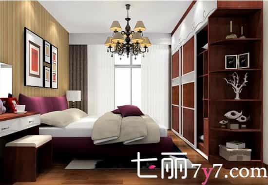 温馨卧室装修设计效果图欣赏 大格局小情调