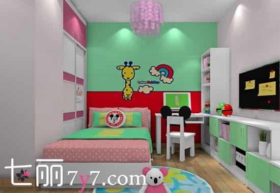 百变儿童房装修设计效果图 给ta一个美好童年 - 七丽