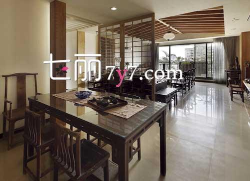 新现代中式风格高端别墅设计 茶香古色