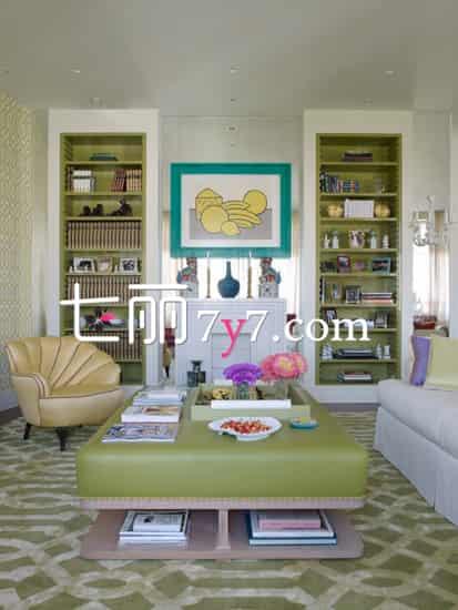 小型客厅家具摆设效果图 教你充分利用空间图片