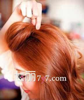 齊肩梨花頭怎么扎好看 韓式劉海扎法更時尚圖片