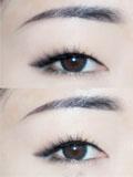 单眼皮眼影画法 不需要眼线的大眼妆
