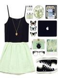綠色裙子配什么顏色上衣 綠色裙子這么搭配上衣最迷人
