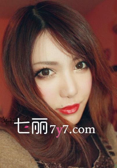 【图】日系混血妆容教程 勾画深邃迷人美貌