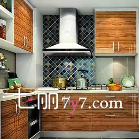 中式厨房装修设计效果图 让烹饪变得有格调