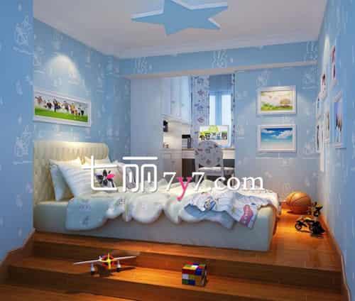 儿童房间装修设计效果图 巧妙布局温馨舒适