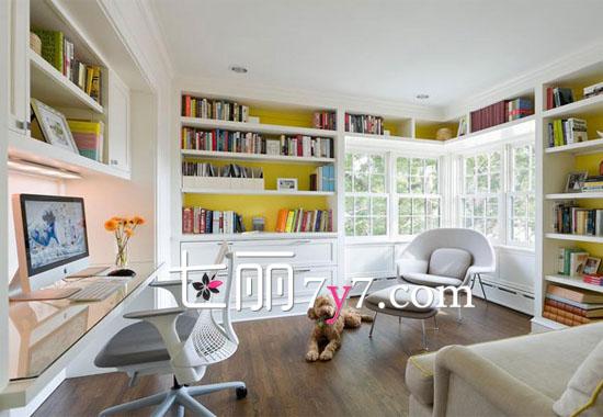 最具文艺气息的家庭书房装修