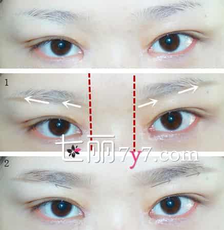 【图】眼距宽的人怎么化妆 眼妆画法步骤