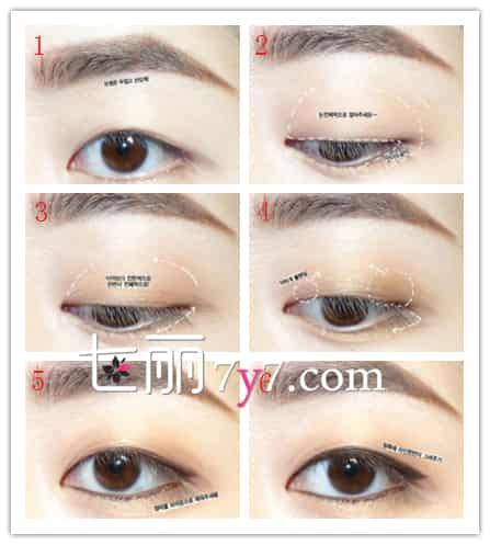 EXO金珉硕眼妆画法 步骤1:眉妆要使用棕色眉粉和眉笔来画,先用眉笔画出眉形,再用眉粉填充眉色。 步骤2:用淡棕色的眼影在眼窝和下眼睑1/2位置涂抹晕染。 步骤3:用棕色眼影在眼窝1/2,下眼尾1/3位置晕染。 步骤4:在眼头和眼尾、倒三角位置晕染,加深眼妆。 步骤5:用棕色眼线沿着睫毛根部画出眼线,下眼睑画出内眼线。 步骤6:再用眼线笔画出一条外眼线,眼尾稍加拉长,如此这款眼妆就算完成了哦! 扩展阅读: