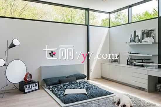 榻榻米卧室设计装修效果图 给老婆一个日式温馨的家