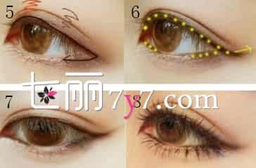 芭比娃娃大眼妆画法步骤 简单8步骤快速搞定