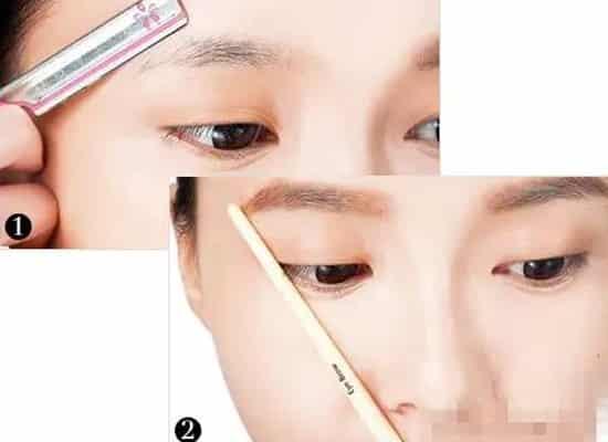 圆脸适合什么眉型,圆脸适合哪种眉毛,大圆脸适合哪种眉毛