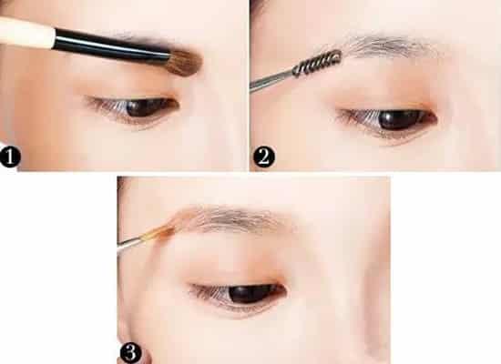圆脸适合什么眉型,圆脸适合哪种眉毛,大圆脸适合哪种眉毛图片
