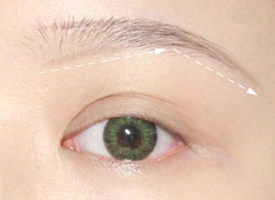 眉型图片画法步骤