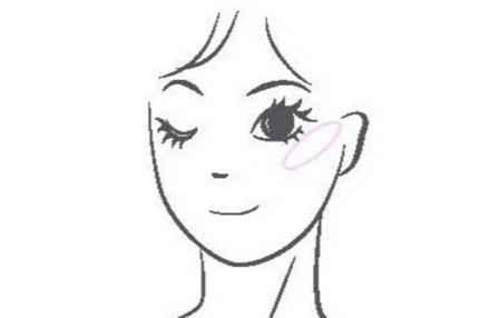 各种脸型腮红的画法腮红怎么涂