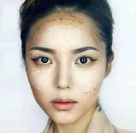 修容粉打造v字脸用法 简单拥有深V脸