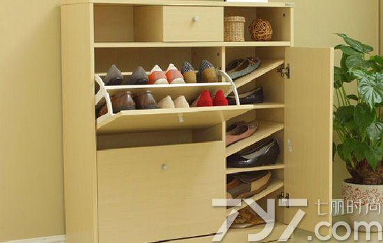 玄关鞋柜装修效果图 玄关鞋柜设计告别脏乱